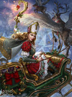 Legend of the Cryptids - Yule Queen Lalanoel adv. by anotherwanderer