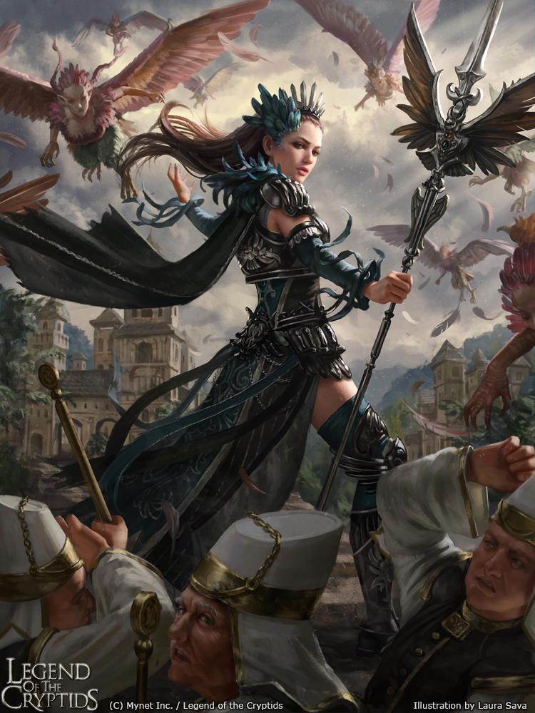 Legend of the Cryptids - Zara adv. by anotherwanderer