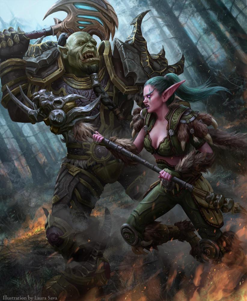 Orcs Vs Elves