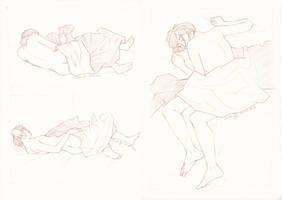 Sleeping CM by LualaDy