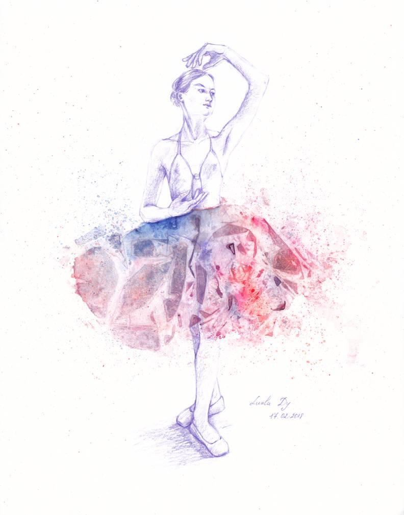 Dancer [Feb18 Patreon Reward] by LualaDy