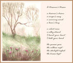 A Dreamer's Dream (poem By C1nderellaman) by LualaDy