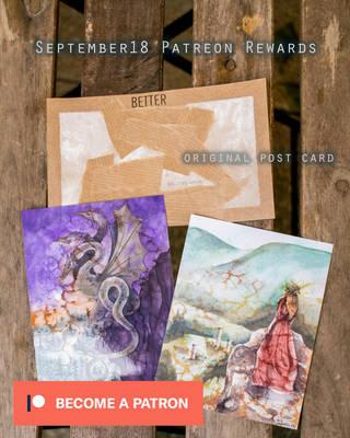 Patreon Rewards September 2018 by LualaDy