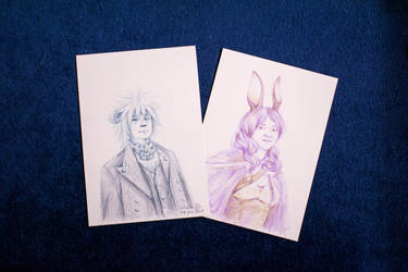 Convention Portraits by LualaDy