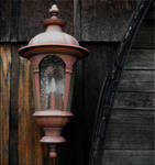 Lamp at the Winery by DigitalLithium