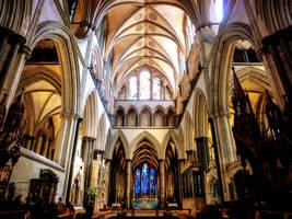 Salisbury Cathedral by Michawolf13