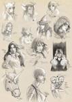 FB-Free Sketch Dump by Iksumi