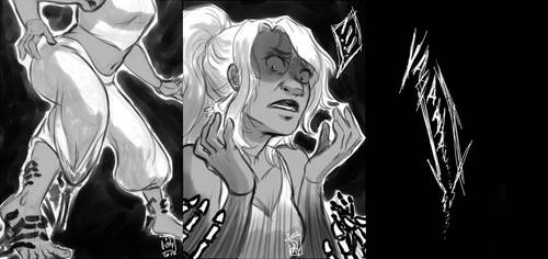 Tania's nightmare by Iksumi