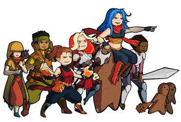 Mini heroes by Iksumi