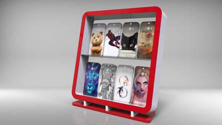 Exhibidor Carcazas de Cells - Cells Cases Display by javierlovera