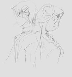 Stein and Medusa by Ertxz18