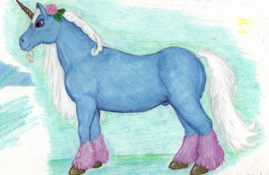 Delibrately Cute Unicorn by CherokeeGal1975