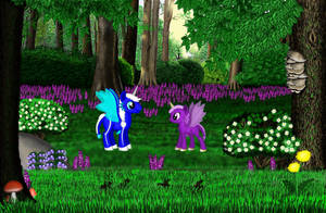 Forest Set 5 by CherokeeGal1975