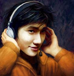 Sam Yao, Beautiful Ice Cream Roll by Sir-Edmund