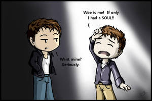TFC::The Trouble with Souls by nozomi-neko