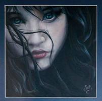 Ojos verdes by fireina