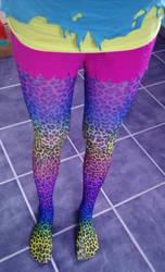Rainbow print all the way by ScruffyFluffy