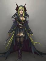 Demonic HP by oni-niubbo