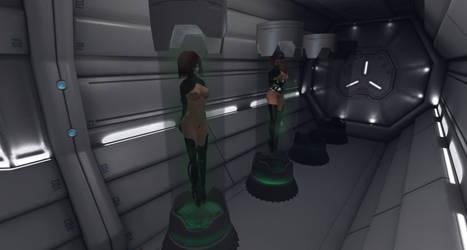 Penumbra Station - Crew Storage by Aleeri