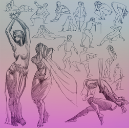 Daily Gesture 198 by abrahamdavid