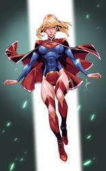 Supergirl by kevinTUT