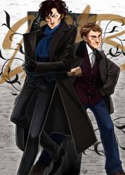 221B Baker Street by EvilApple513