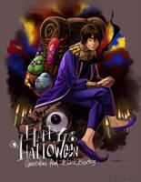 HAPPY HALLOWEEN! by EvilApple513