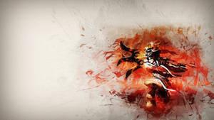 Akali Bloodmoon Wallpaper by Kireaki