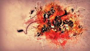 Firecracker Jinx Wallpaper by Kireaki