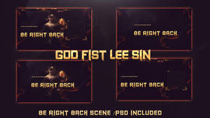 GOD FIST LEE SIN STREAM DESIGN BE RIGHT BACK by Kireaki