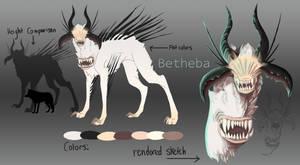 Creature Design Contest: Betheba by Spirit2quil
