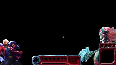 Twitch Overlay 5.17 |Primetime Draven + Koi Nami by NightmareWubs