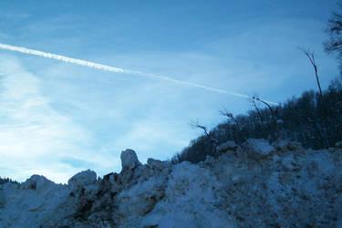 Line in the Sky Cont. by AllHellDanielle