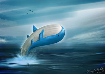 Wailord by lazrakhilal