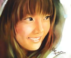 Kim Taeyeon-SNSD by KoweRallen