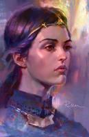 Portrait Study by KoweRallen