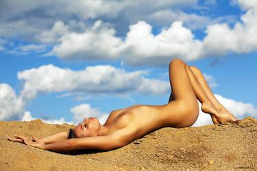 sun enjoyment by Dusaleev
