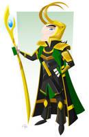 Loki (final) by placitte2012