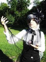 Ciel Phantomhive. Black Lily. by Verrett