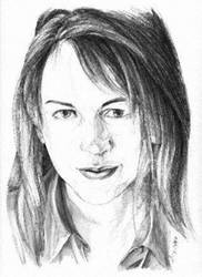 renee o'connor by AdrienneLee