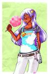 Cotton Candy Choko by divi