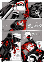Shadow Sweepers page 1 color by bordon