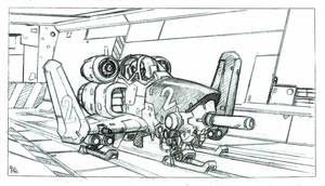 Attackship by bordon