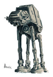 AT-AT by Atroxcze