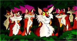 The Foxbusters Foxes by FreyFox