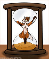 Vixen In An Hourglass by FreyFox