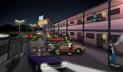 Motel by FreyFox