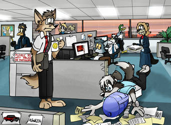 Office by FreyFox