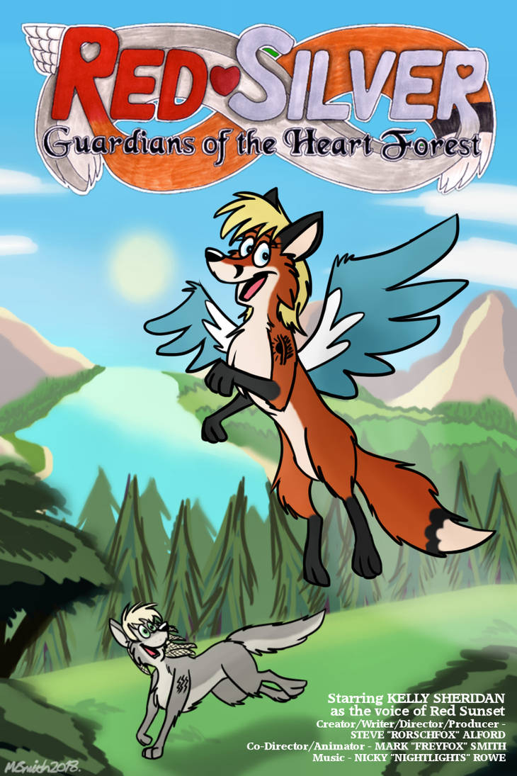 RedSilver - Guardians of the Heart Forest by FreyFox