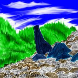 Mountainscape V1 by kamikashin